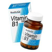 Health Aid Vitamin B1 Thiamin Συμπλήρωμα