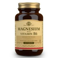 Solgar Μαγνήσιο με Βιταμίνη Β6