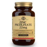 Solgar Zinc Picolinate 22mg Ψευδάργυρος