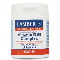 Lamberts Vitamin B-50 Complex 60tabs για