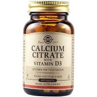 Solgar Calcium Citrate 250mg with Vitamin