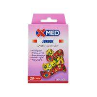 X-MED Junior Strips 4 Μεγέθη Παιδικά