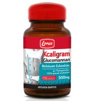 Lanes Kcaligram Glucomannan 500mg Συμπλήρωμα