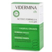 Vidermina CLX Vaginals Ovules Κολπικά Υπόθετα με