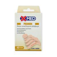 Medisei X-Med Premium Strips Αυτοκόλλητα Επιθέματα