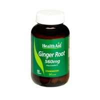 Health Aid Ginger Root 560mg