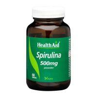 Health Aid Spirulina 500mg Συμπλήρωμα Διατροφής