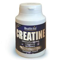 Health Aid Creatine Monohydrate 1000mg 60