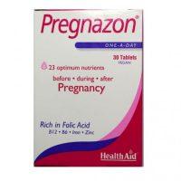 Health Aid Pregnazon Συμπλήρωμα Διατροφής Για